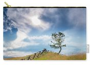Rail Fence And A Tree Carry-all Pouch
