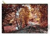 Rail Road Along Brandywine Creek Carry-all Pouch
