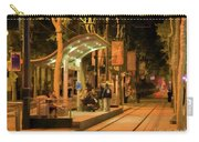 Rail Stop Downtown San Jose California Night Carry-all Pouch