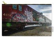 Railcar Graffiti Carry-all Pouch