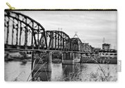 Railroad Bridge -bw Carry-all Pouch