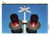 Railroad Crossing Lights Carry-all Pouch