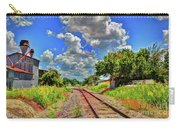 Railroad Tracks Carry-all Pouch