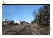 Railroad Tracks Switch Station Carry-all Pouch