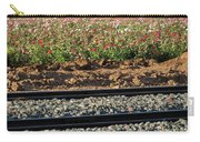 Rails And Roses Carry-all Pouch