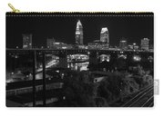 Rails Roads And Rust In Monochrome Carry-all Pouch
