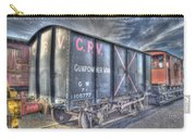 Railway Gunpowder Wagon Carry-all Pouch by Chris Thaxter