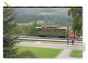 Railway Station On Mountain Vintage Carry-all Pouch
