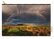 Rain And Rainbows  Carry-all Pouch