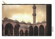 Rain At The Blue Mosque Carry-all Pouch