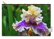 Rain Coated Multi Colored Iris Carry-all Pouch