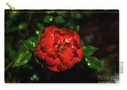 Rain Drops On A Rose Carry-all Pouch