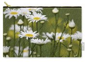 Rain Drops On Daisies Carry-all Pouch