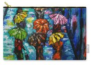 Rain Fantasy Acrylic Painting  Carry-all Pouch