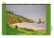Rain Forest Meets The Sea Carry-all Pouch