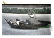 Rain In Bangladesh- An Acrylic Painting Carry-all Pouch