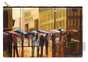 Rain In Manhattan Number Seventeen Carry-all Pouch