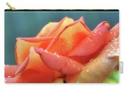 Rain And Rose Carry-all Pouch