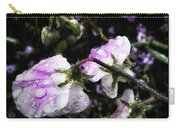 Rain Kissed Petals. This Flower Art Carry-all Pouch by Mr Photojimsf