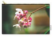 Rain On Flowers Carry-all Pouch