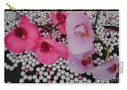 Rain On Orchids Carry-all Pouch