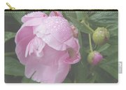 Rain On Peony Carry-all Pouch