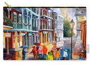 Rain On St. Peter Street Carry-all Pouch