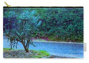 Rain Storm On Lake Linda Carry-all Pouch