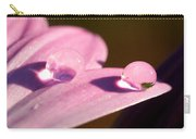 Rain Water On Daisy One Carry-all Pouch