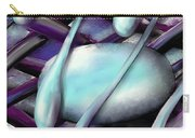 Life On Purple Plaid Carry-all Pouch