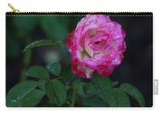 Rain Wet Rose Carry-all Pouch