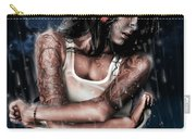 Rain When I Die Carry-all Pouch by Pete Tapang