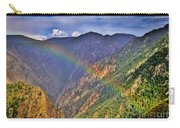 Rainbow Across Canyon Carry-all Pouch