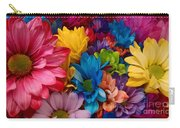 Rainbow Bouquet Carry-all Pouch