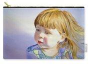 Rainbow Breeze Girl Portrait Carry-all Pouch