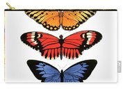 Rainbow Butterflies Carry-all Pouch