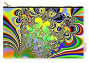Rainbow Butterfly Bouquet Fractal Abstract Carry-all Pouch