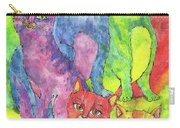 Rainbow Cats 2017 07 01 Carry-all Pouch