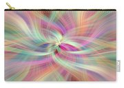 Rainbow Colored Abstract. Concept Divine Virtues Carry-all Pouch