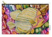 Rainbow-colored Sunfish Carry-all Pouch