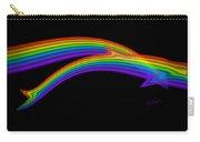 Rainbow Dolphin Carry-all Pouch
