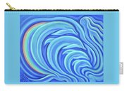 Rainbow Dolphins Carry-all Pouch