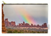 Rainbow Down Carry-all Pouch