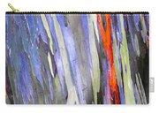 Rainbow Eucalyptus Tree Carry-all Pouch