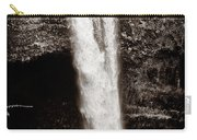 Rainbow Falls 2 - Sepia Carry-all Pouch