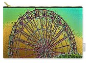 Rainbow Ferris Wheel Carry-all Pouch