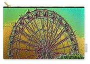 Rainbow Ferris Wheel Carry-all Pouch