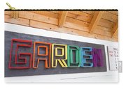 Rainbow Garden Sign One Carry-all Pouch