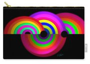 Rainbow In 3d Carry-all Pouch