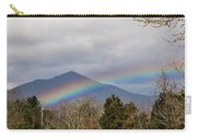 Rainbow In Front Of Sharp Top Carry-all Pouch